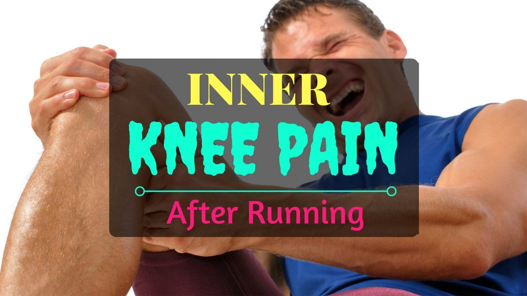 inner knee pain after running